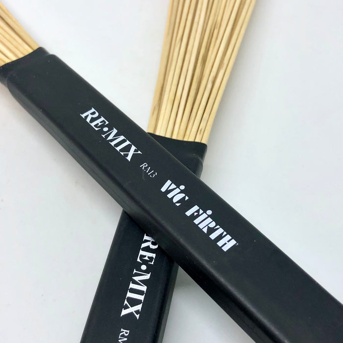 Vic Firth REMIX Brushes - Birch Dowels RM3