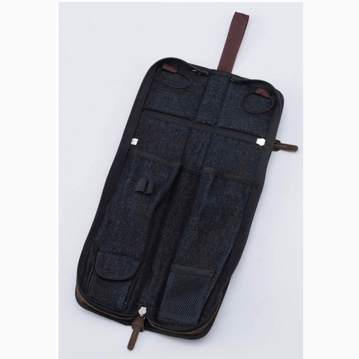 Tama Powerpad Designer Collection Stick Bag - Black Denim - Compact