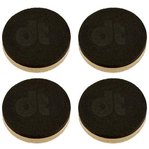 DrumTacs BLACK Damper Pads 4pk Tone Control - Drum Supply House