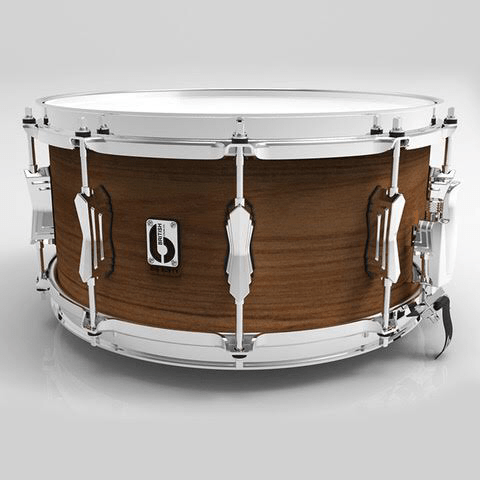 British Drum Co Big Softy Snare Drum - Tulip + Cherry - Drum Supply House