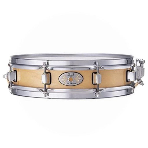 Pearl 3 x 13 Natural Maple Piccolo Snare Drum - Drum Supply House