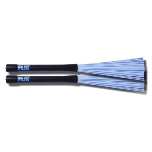 Rock - Nylon Brushes - Light Blue - Drum Supply House