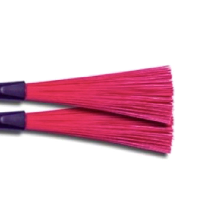 Classic - Nylon Brushes - Red - Drum Supply House