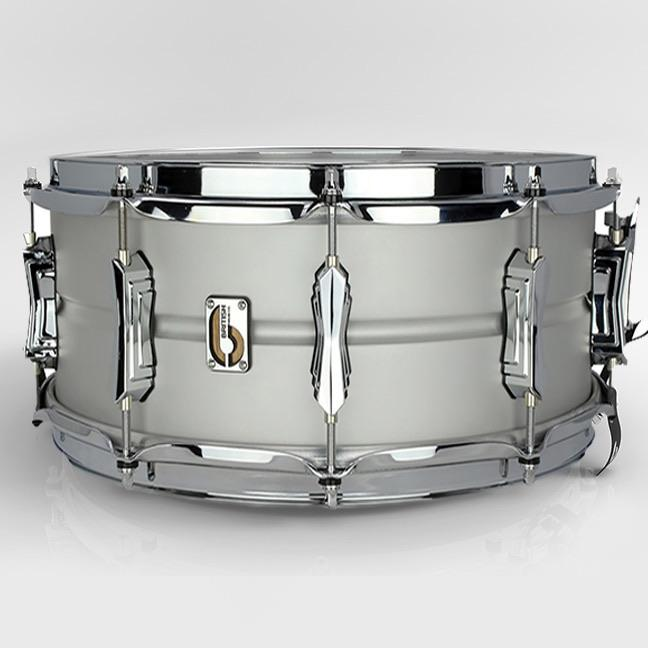 British Drum Co Aviator Snare Drum - Seamless Aluminium - Drum Supply House