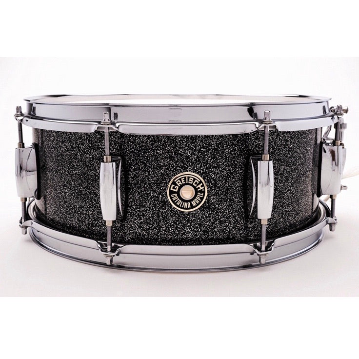 Gretsch Snare Drum Black Stardust Lacquer 5.5x14