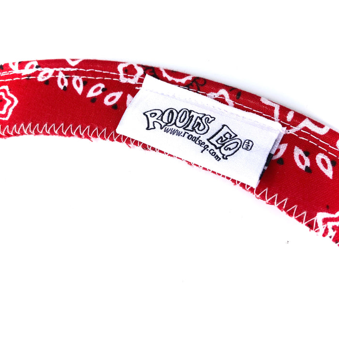 RootsEQ Tone Control Mute RED Bandanna Ring