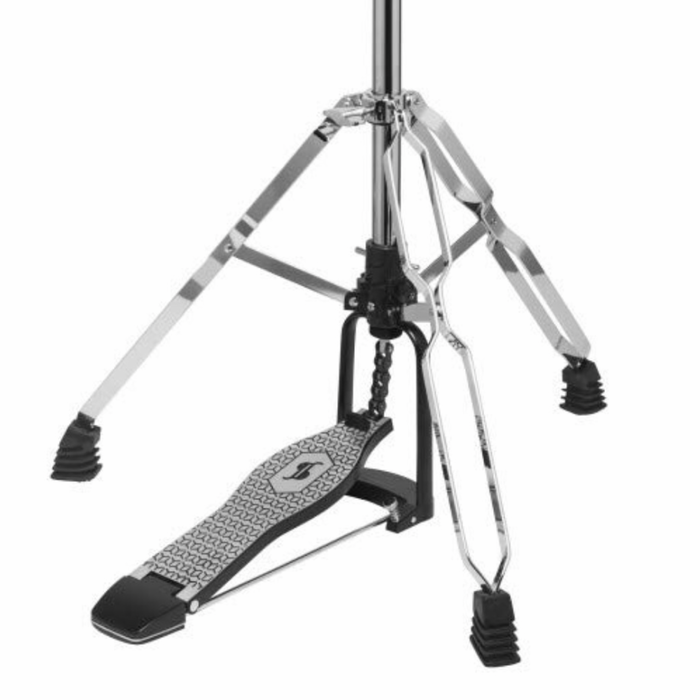 Stagg HI-HAT STAND Double BRACED Medium weight LHD-52