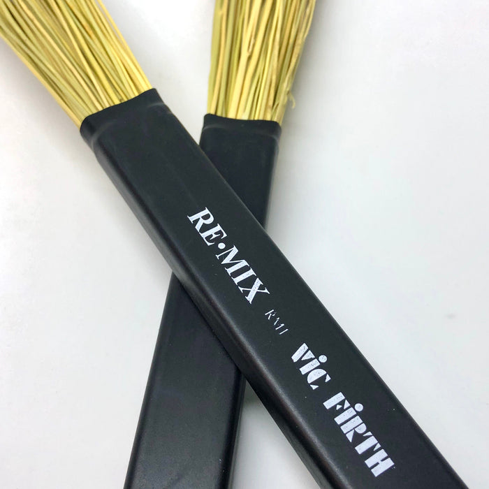 Vic Firth REMIX Brushes - Broomcorn RM1