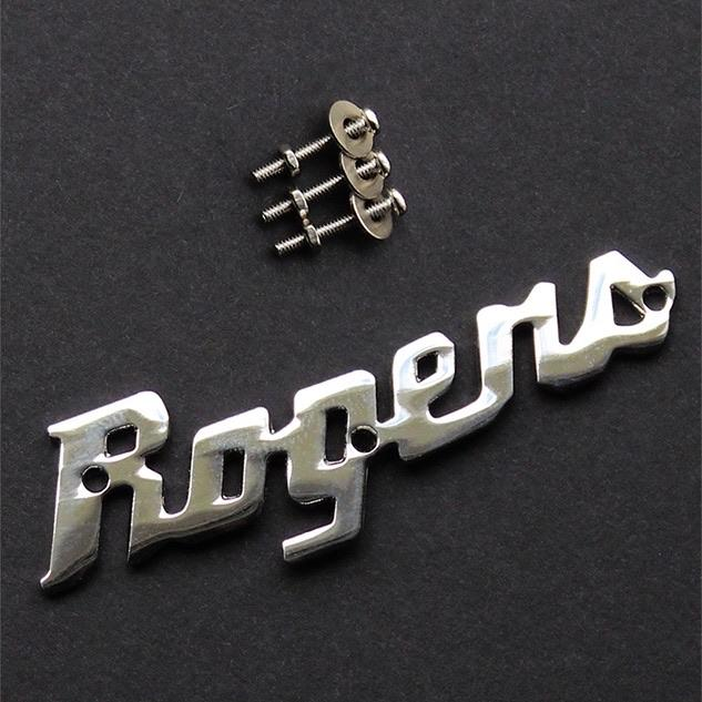 Rogers - Rogers Script Logo Badge - Drum Supply House