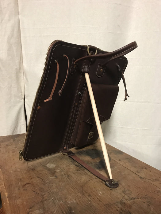 Drum Bag TACKLE leather stand-up Stick Bag