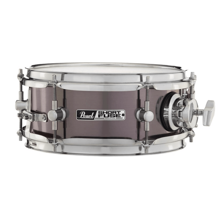 Pearl Short Fuse Snare Drum - Brushed Pewter - Drum Supply House