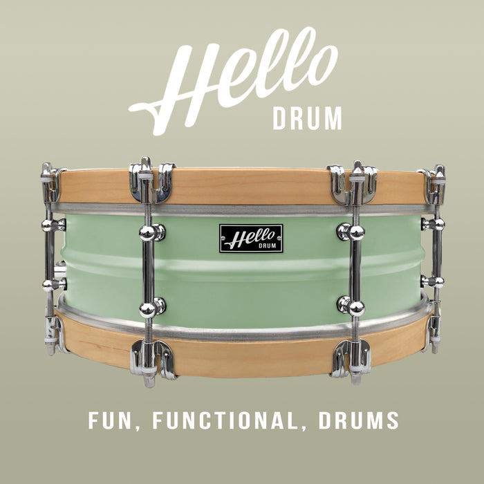 Hello Drum Snare - Mint Green