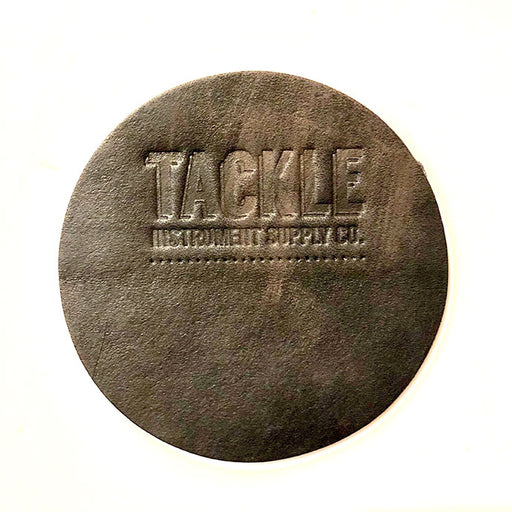 TACKLE BD Leather Dot head patch LARGE