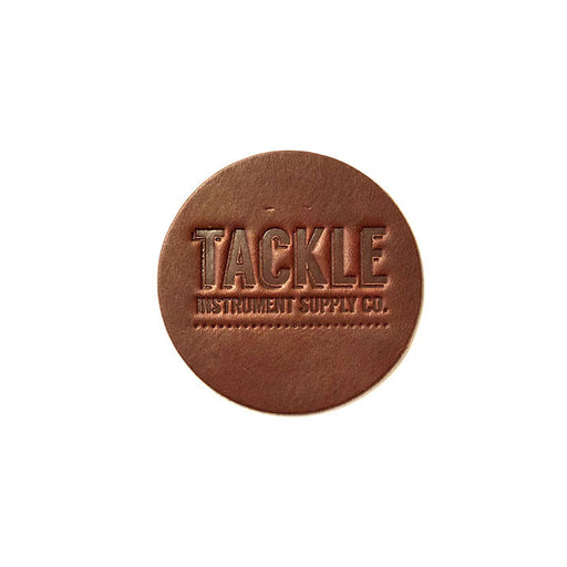 TACKLE BD Leather Dot head patch SMALL