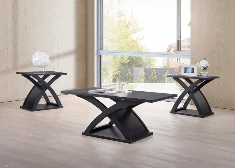 Sleek 3PCS Coffee Table Set