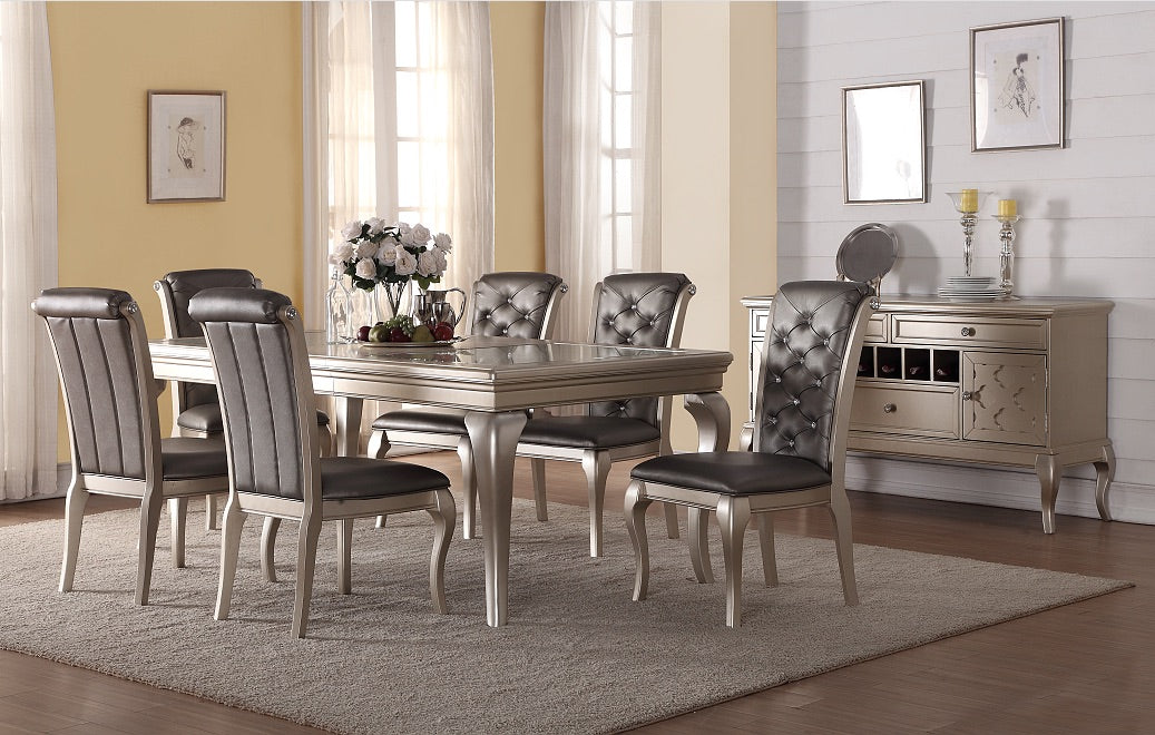 Classic Gold 7PCS Dining Set