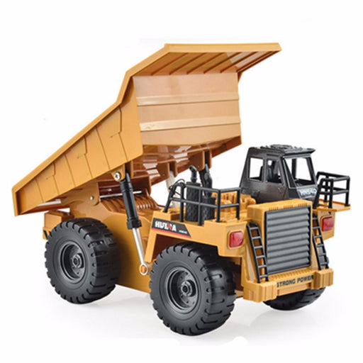 Remote Controlled Dump Truck - Alloy Metal Body