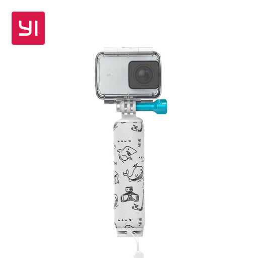 YI Floating Grip Stick White For YI Action Camera Underwater Adventure Swimming Diving Snorkeling Surfing