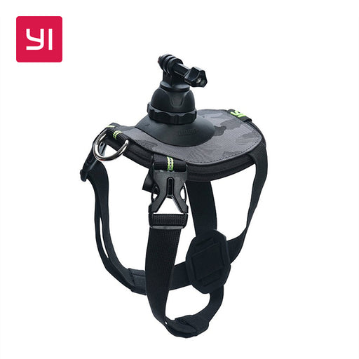 YI Pet Mount For YI Action Camera 4K Camera Sports Camera Big & Small Size Black+Camo YI Official