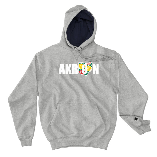 Beautiful Akron 2 Champion S171 Cotton Max Hoodie - We Care Tees