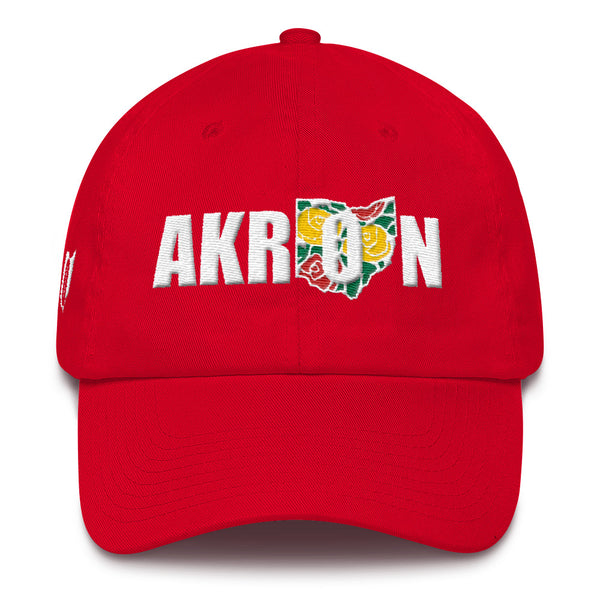 Beautiful Akron 2 Embroidered Dad Hat