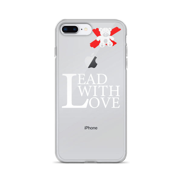 Lead with Love White iPhone Case - We Care Tees