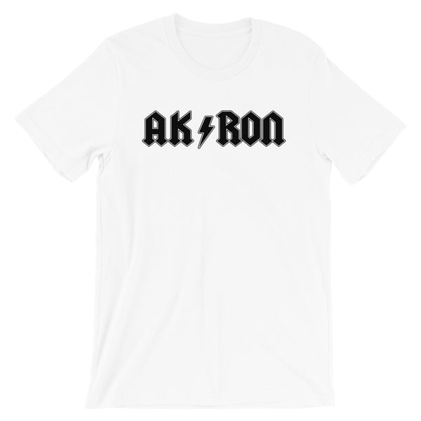 AK/RON BLACK Short-Sleeve Unisex T-Shirt