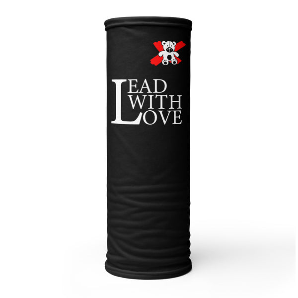 Lead with Love Neck Gaiter - We Care Tees