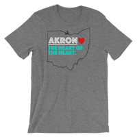 Akron Heart of The Heart Short-Sleeve Unisex T-Shirt