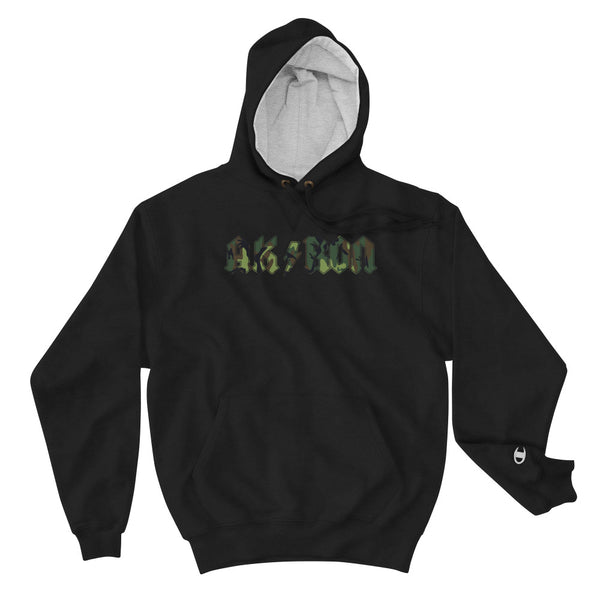 AK/RON CAMO 30 X Champion Hoodie - We Care Tees