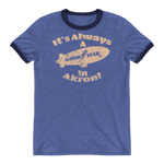 Good Year In Akron Ringer T-Shirt