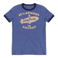 Good Year In Akron Ringer T-Shirt - We Care Tees