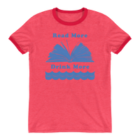 Read More Drink More Ringer T-Shirts