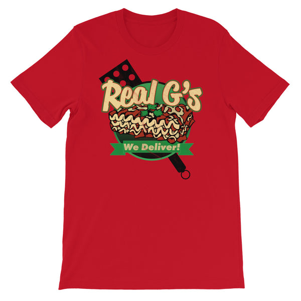 Real G's Short-Sleeve Unisex T-Shirt - We Care Tees