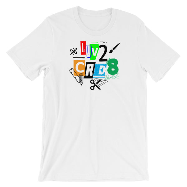 Luv2 CRE8 - We Care Tees