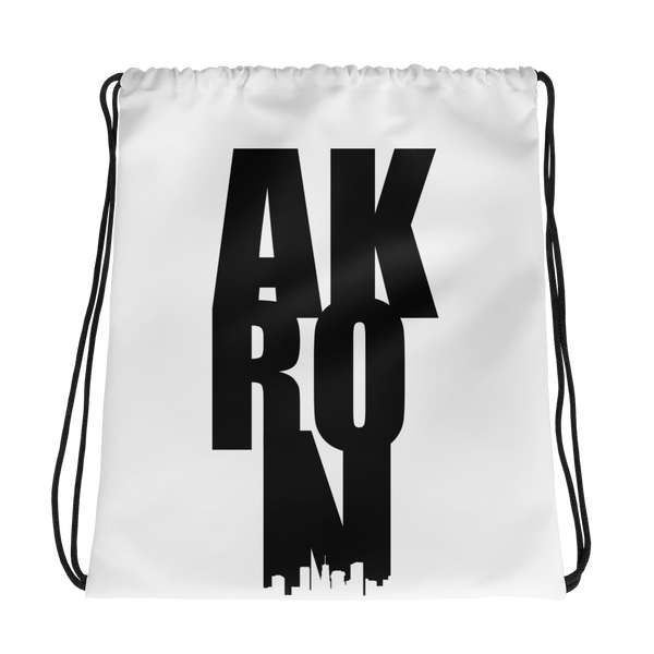 AK-RON Drawstring Bag - We Care Tees