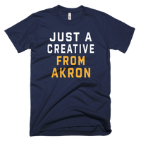 JUST A CREATIVE FROM AKRON T-Shirt - We Care Tees