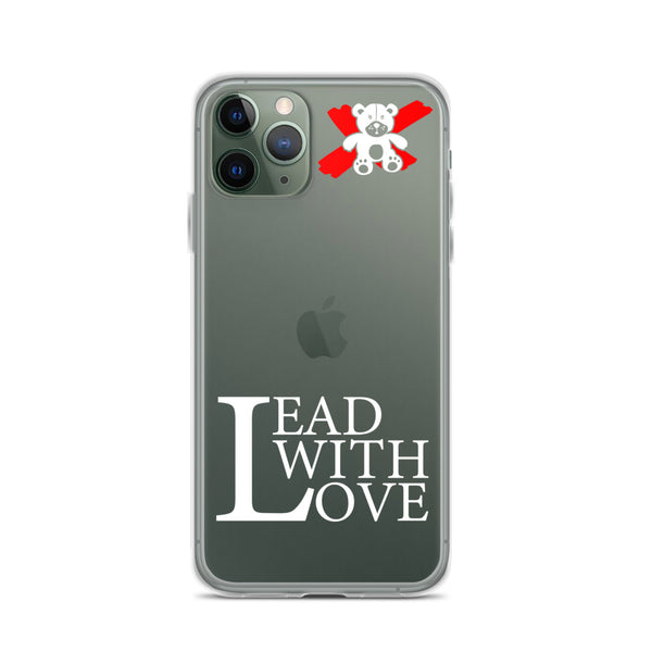 Lead with Love White iPhone 11 Pro/11 Pro Max Case - We Care Tees