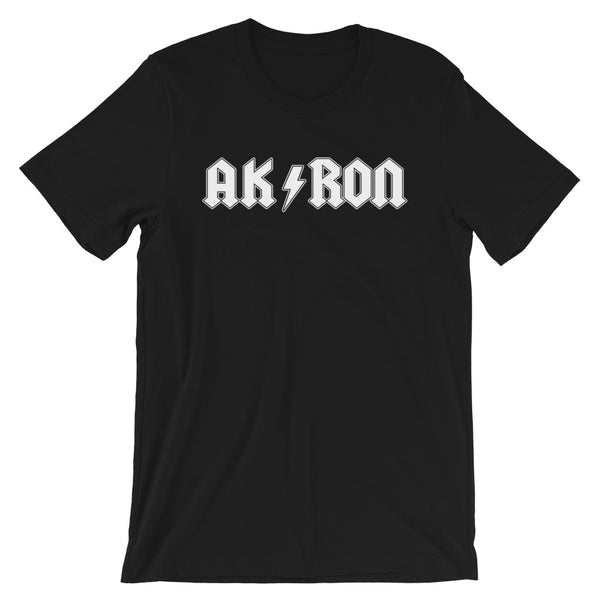 AK/RON WHITE Short-Sleeve Unisex T-Shirt - We Care Tees