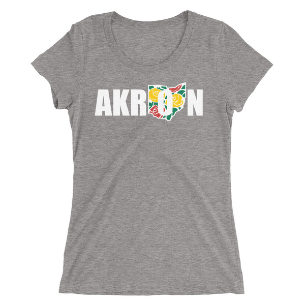 Beautiful Akron 2 Ladies' short sleeve t-shirt