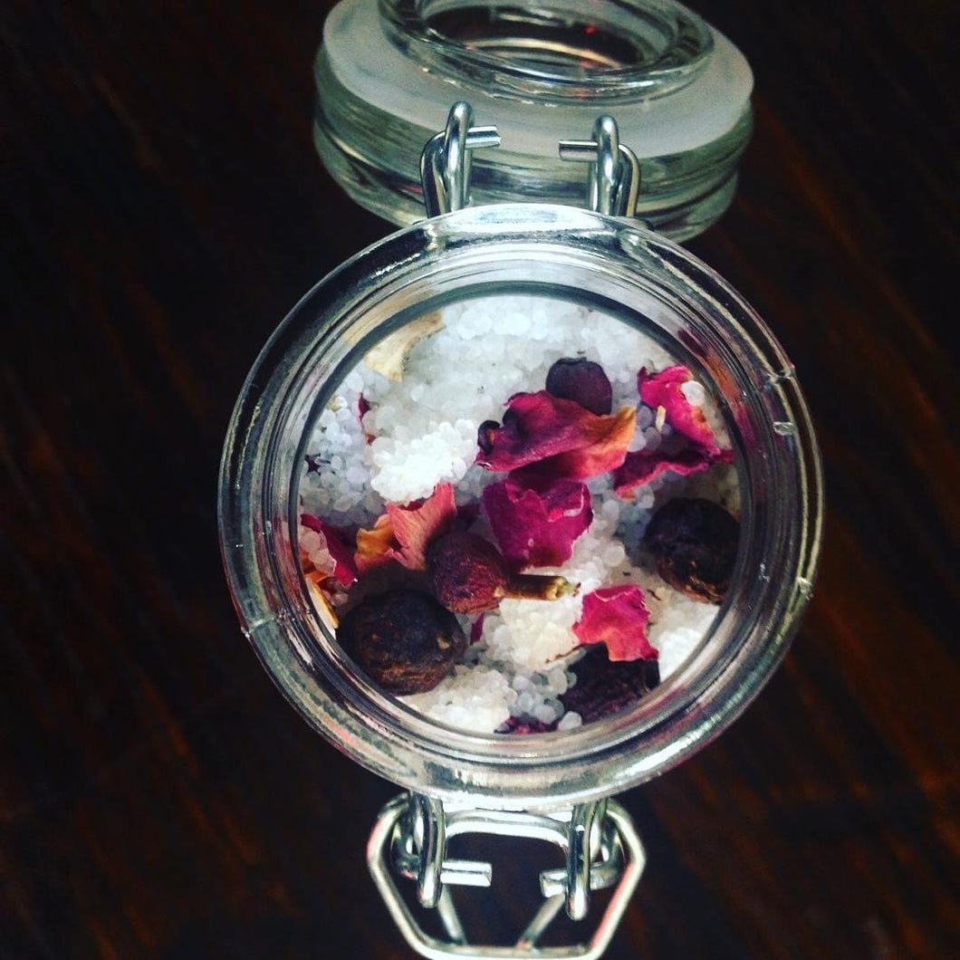 Easy Now: Bath Salts for Grief