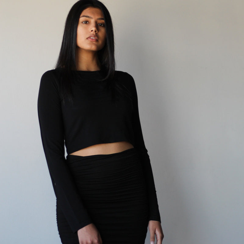 Double Layered Crop Top