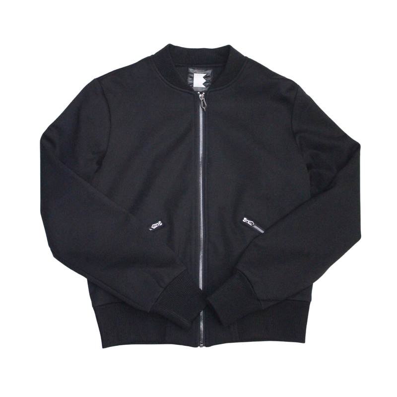 Women's Black Bomber Jacket