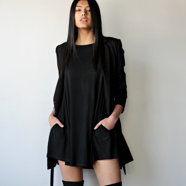 Pocket Mini Dress