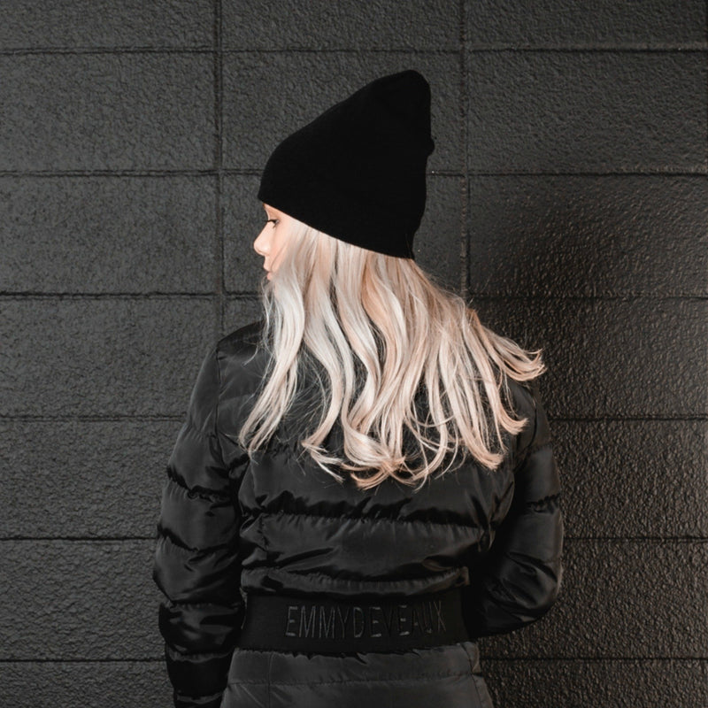 Ladies Black Toque