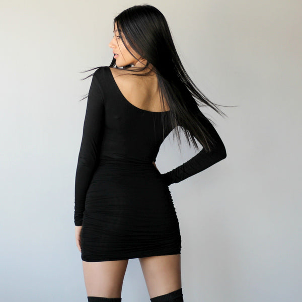 Double Layered Long Sleeved Bodysuit