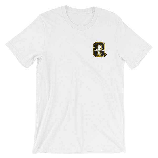Embroidered Q'ing Varsity Logo T-Shirt
