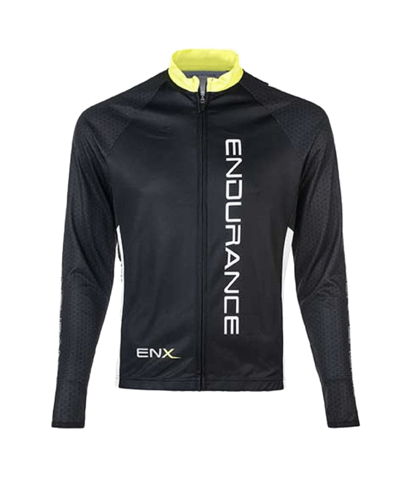 ENDURANCE CYCLING Karl - Mens Cycling Jersey (L/S)