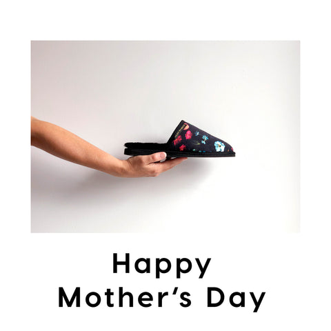 Floral slipper: a Mother's Day gift with purpose