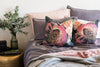 Bedroom Interior Peony Cushion | HelenBankers